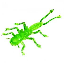 Силиконовая приманка Microkiller веснянка 35мм зеленый флюо
