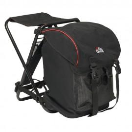 Рюкзак рыболовный со стулом Abu Garcia Basic Black/red