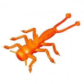 Силиконовая приманка Microkiller веснянка 35мм морковный