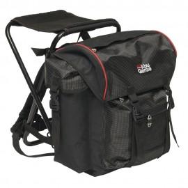 Рюкзак рыболовный со стулом Abu Garcia Standard Black/red