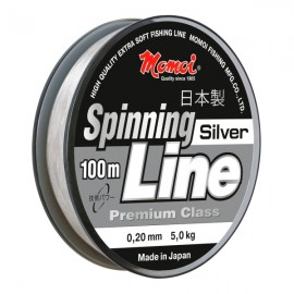 Серия рыболовных лесок Momoi Spinning Line Silver