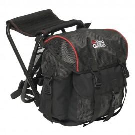 Рюкзак рыболовный со стулом Abu Garcia Children Black/red
