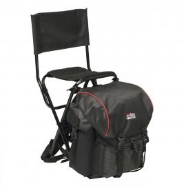 Рюкзак рыболовный со стулом Abu Garcia Standard Black/red (спинка)