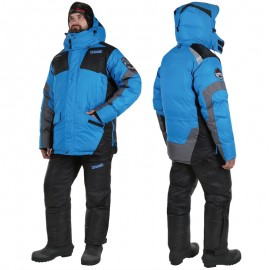Костюм зимний Alaskan Anchorage Black/Grey/Blue S