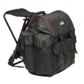 Рюкзак рыболовный со стулом Abu Garcia Large Black/red