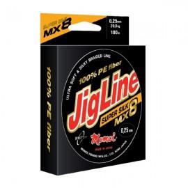 Серия рыболовных шнуров Momoi JigLine Super Silk