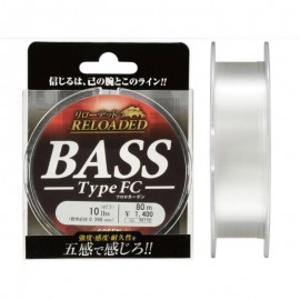 Леска Gosen Fluorocarbon Reloaded Bass FC 12 LB (3) 0,285mm